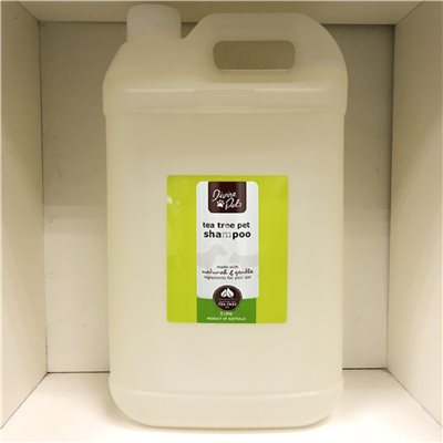 Divine Pets - Tea Tree Shampoo 極致清爽洗毛液 5L