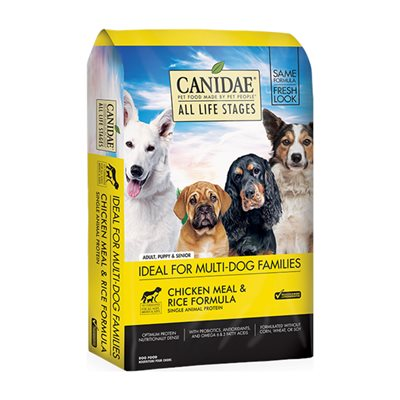 Canidae (Dog) Chicken Meal & Rice 雞肉糙米配方 15lb