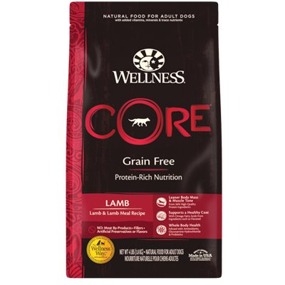Wellness Core 無穀物(犬用)配方 - 羊肉 22lb