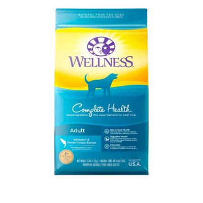 Wellness Complete Health 全能配方 - 成犬 (鮮魚甜薯) 15lb (藍色)
