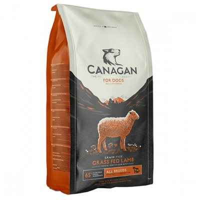 Canagan Grass-Fed Lamb For Dogs 無穀物放牧羊 (全犬糧) 2kg