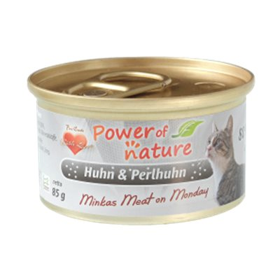 Power of Nature 星期一慕絲 Minkas Meat on Monday (Huhn & Perlhuhn) 鴛鴦雞肉 85g (灰色)