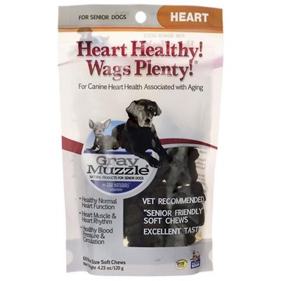Gray Muzzle (By Ark Naturals) Old Dog! Heart Healthy! Wags Plenty! 年長健心軟粒 4.23oz (120g)