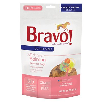 Bravo - Freeze Dried Salmon 脫水野生三文魚 2oz