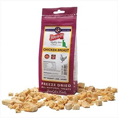 Bravo - Freeze Dried Healthy Bites Chicken Breast 脫水雞胸貓小食 1.5oz