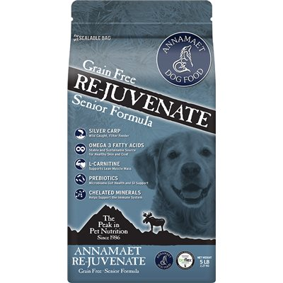 Annamaet Re-juvenate Senior Grain Free Formula (Dog) 無穀物高齡犬隻配方 25lb