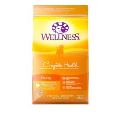 Wellness Complete Health 全能配方 - 幼犬 5lb (黃色)