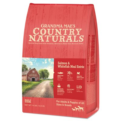 Country Naturals 三文魚白鮭魚全犬種配方 25lb