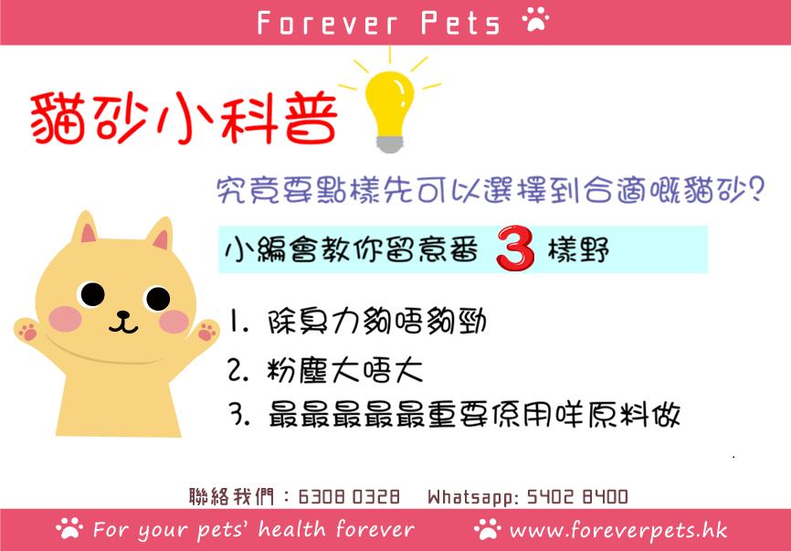 如何選擇合適的貓砂