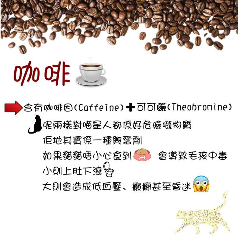 原來咖啡對毛孩係有害😱😱