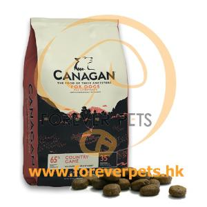 Canagan Country Game For Dogs 無穀物田園野味 (全犬糧)  12kg (紅色)