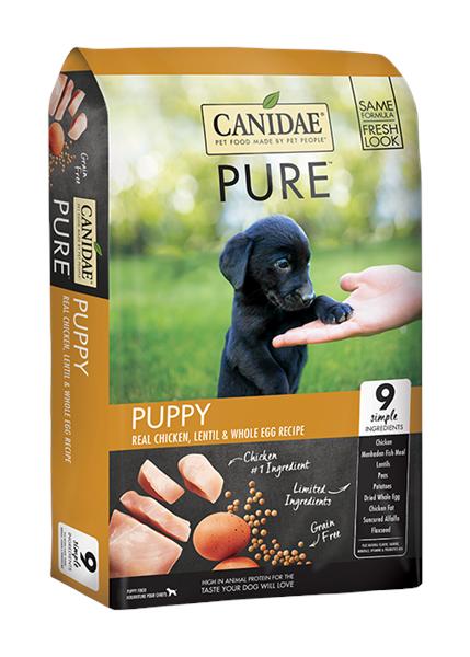 Canidae (Pure Foundations Puppy) 幼犬期 (無穀物配方) 24lb
