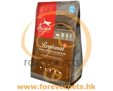 Orijen 無穀物 Regional 紅肉 (犬用) 專用配方 11.4kg