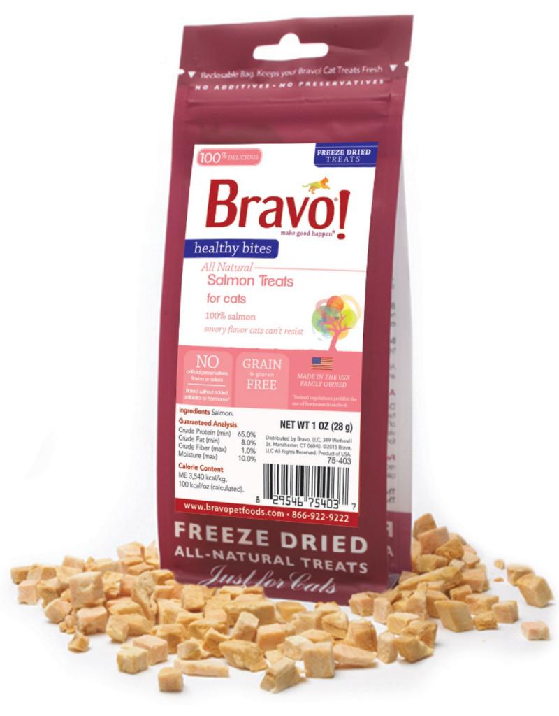 Bravo - Freeze Dried Healthy Bites Salmon 脫水三文魚貓小食 1oz