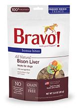 Bravo - Freeze Dried Bison Liver 脫水野牛肝 3oz