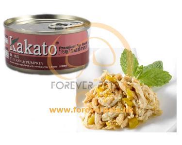Kakato 卡格 Chicken & Pumpkin 雞、南瓜 (貓狗合用) 170g