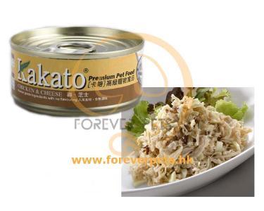 Kakato 卡格 Chicken & Cheese 雞、芝士 (貓狗合用) 170g
