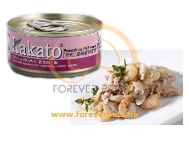 Kakato 卡格 Tuna & Prawn 吞拿魚、蝦 (貓狗合用) 170g
