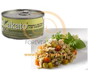 Kakato 卡格 Chicken & Vegetables 雞、蔬菜 (貓狗合用) 170g