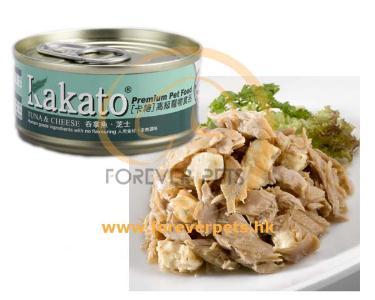 Kakato 卡格 Tuna & Cheese 吞拿魚、芝士 (貓狗合用) 70g