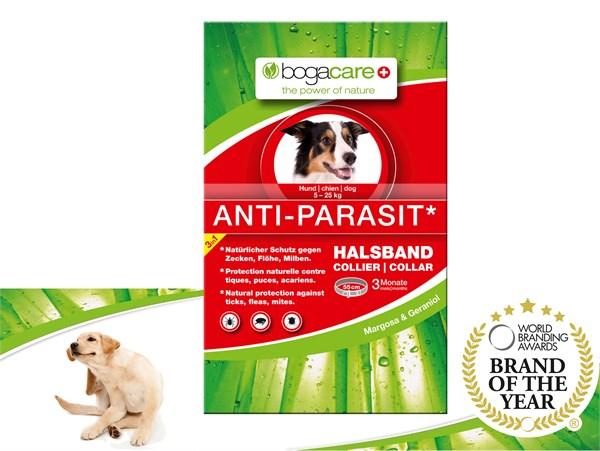 bogacare® ANTI-PARASIT Collar (SMALL) 天然驅蚤頸圈 (中小型犬用) 5-25kg 55cm