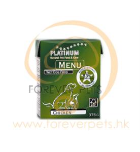 Platinum Menu 純鮮雞肉濕糧 375g