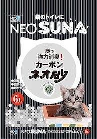 日本NEO Suna 活性炭紙砂 6L - 6包優惠