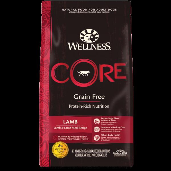 Wellness Core 無穀物(犬用)配方 - 羊肉 22lb
