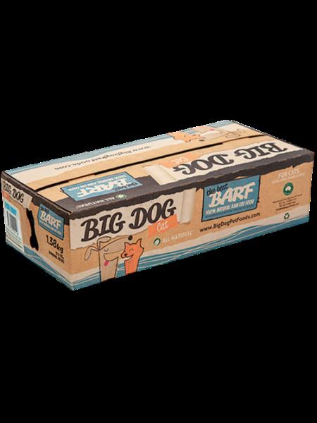 Big Dog BARF (急凍貓糧) -  魚配方 1.38Kg