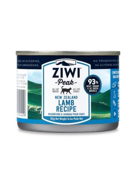 ZiwiPeak - 罐裝料理 (貓用) - 羊肉配方 185g