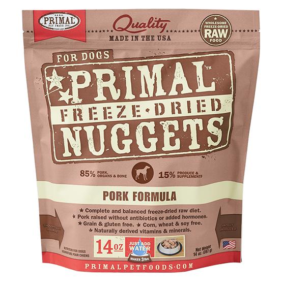 Primal (原始)-Canine Freeze-Dried Formula (Pork)犬用低溫脫水糧- 豬配方 14oz