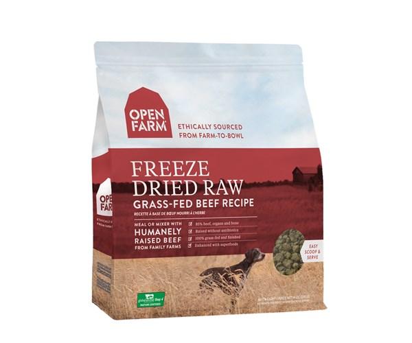 Open Farm Freeze-Dried Dog (Beef) 無穀物牛肉蔬果冷凍脫水狗糧 13.5oz