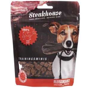 Fleischeslust原尾煮易 扒房(Steakhouse)小食 - 風乾 (Air Dried) 純牛肉粒 (Beef Minis) 100g