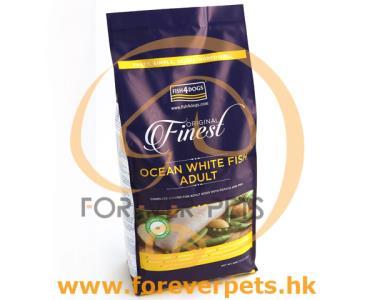 Fish4Dogs Finest Fish 深海魚 無麩質 低敏 (成犬) 配方 12kg (小粒) - 6kg x 2包