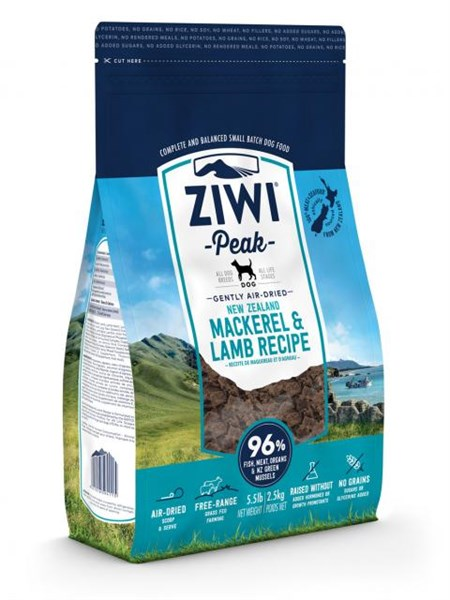 ZiwiPeak 'Daily Dog' Cuisine 狗料理 - Mackerel & Lamb 鯖魚羊肉 2.5kg