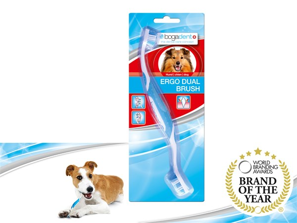 bogadent® Ergo Dual Brush 人體工學雙頭牙刷