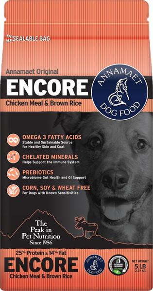 Annamaet Encore (Dog) - 高能量幼犬雞肉配方狗糧 5lb