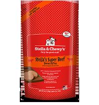 Stella & Chewy's - Frozen Stella's Super Beef 犬用冷凍鮮肉 - 牛魔王(牛肉配方) 6lb  (4包優惠裝)