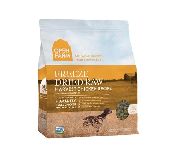 Open Farm Freeze-Dried Dog (Chicken) 無穀物雞肉蔬果冷凍脫水狗糧 13.5oz