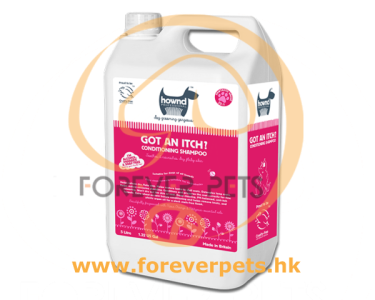 Hownd 享樂 - Got An Itch? Conditioning Shampoo 止癢修護 1:25 濃縮(二合一)潔毛液 5L