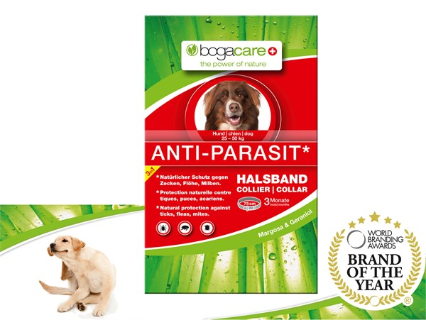 bogacare® ANTI-PARASIT Collar (LARGE) 天然驅蚤頸圈 (中大型犬用) 25-50kg 75cm