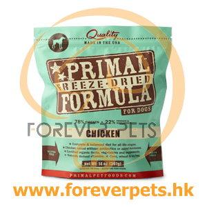 Primal (原始)-Canine Freeze-Dried Formula (Chicken)犬用低溫脫水糧- 雞配方 14oz