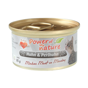 Power of Nature 星期一慕絲 Minkas Meat on Monday (Huhn & Perlhuhn) 鴛鴦雞肉 85g (灰色)