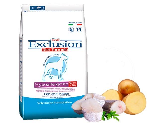 Exclusion Diet Fish & Potato  無穀物成犬配方 - 丹麥鯡魚 12.5kg