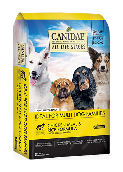 Canidae (Dog) Chicken Meal & Rice 雞肉糙米配方 44lb