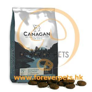 Canagan Scottish Salmon For Cats 無穀物蘇格蘭三文魚 (全貓糧) 4kg (銀藍)