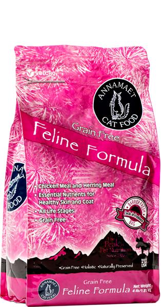Annamaet Feline Grain Free Formula 頂級無穀物天然全貓糧 4lbs