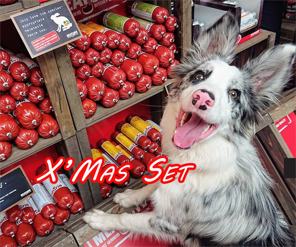 聖誕 真.鮮食 限量優惠 : 凡購物滿 2 SET 800G Fleischeslust原尾煮易即送800g - 鮮味無穀物系列 (牛+牛胃) X 2 (數量限定, 送完即止。)(狗會優惠不適用)