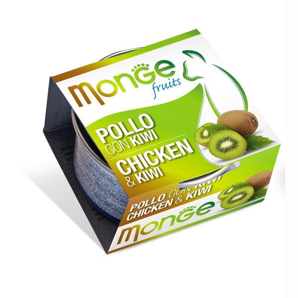 Monge 清新水果系列 - 雞肉+奇異果 80g