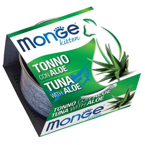 Monge 清新水果系列 - 吞拿魚+蘆薈 80g